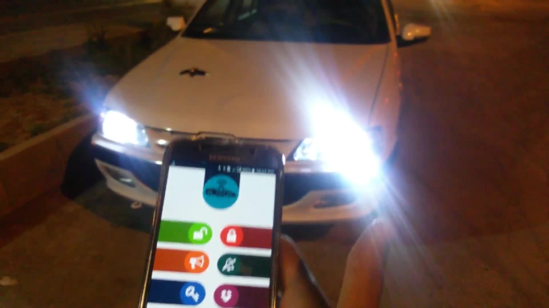 ساخت دزدگیر ماشین با NodeMCU (آردینو) و کنترل خودرو با تلفن همراه